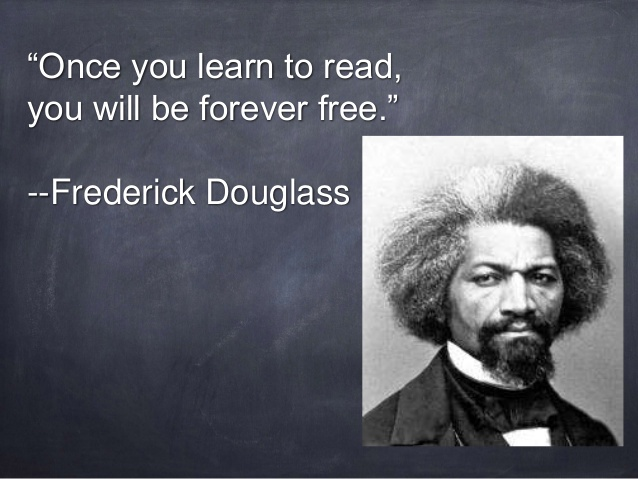 Image result for Frederick Douglass learn to read
