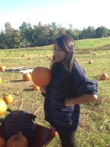 Pumpkin Queen Camille Brenke.