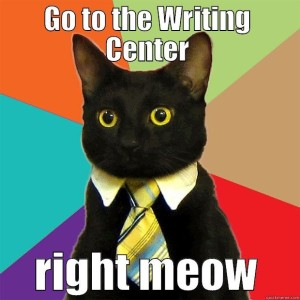 writing center meme