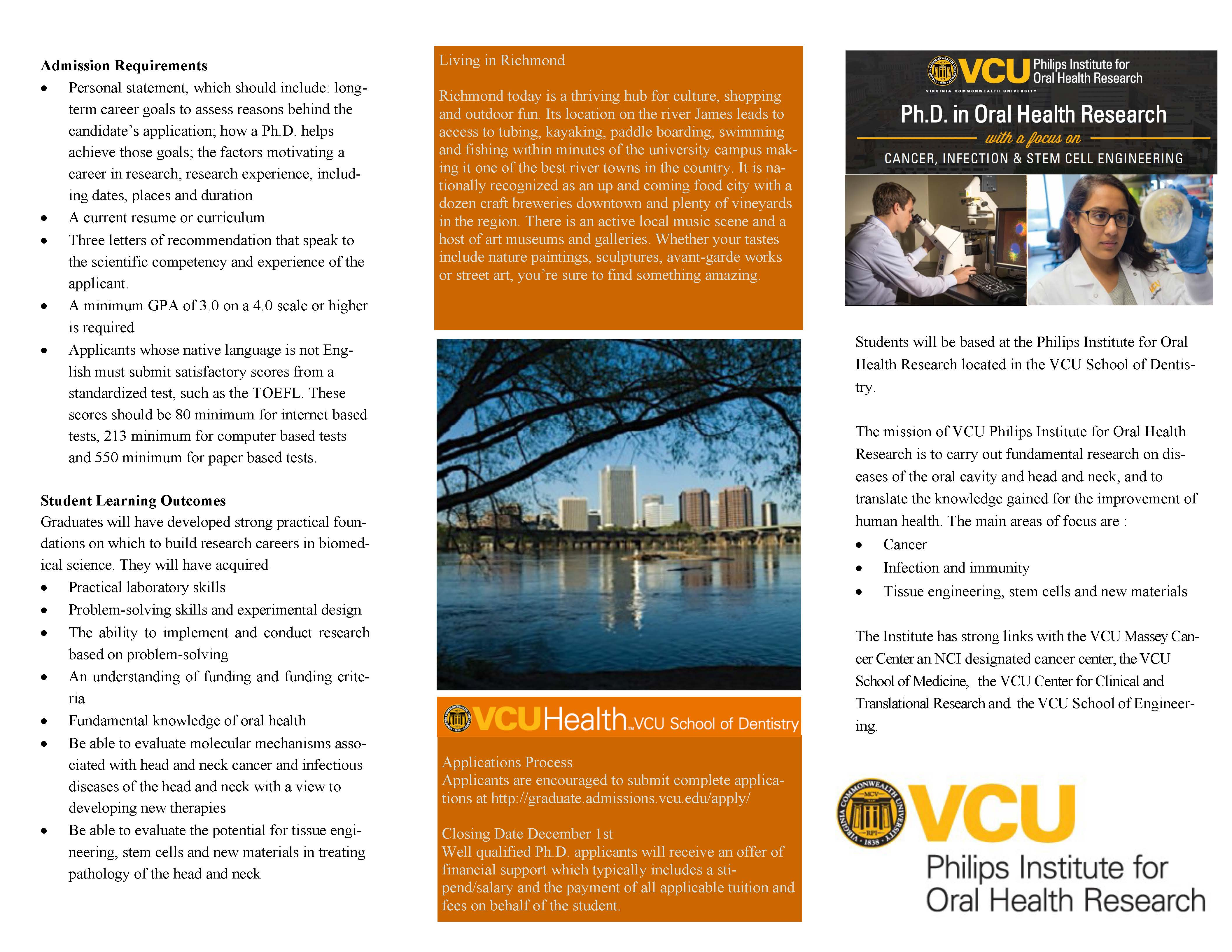 vcu application personal statement Applicants must complete each section of this form as part of the application packet applicant information first name: middle initial: last personal statement.