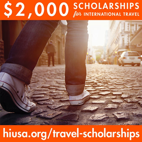 HI USA's Explore the World travel scholarship program