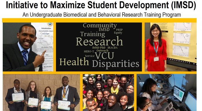 2018 Call for Applications for VCU IMSD undergraduate research training program