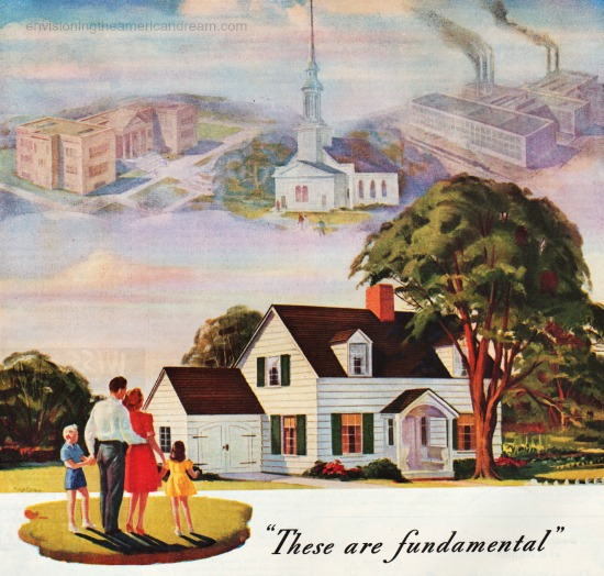 American Dream Circa 1960 >> Sponsored By Materialism And Individualism The American Dream In