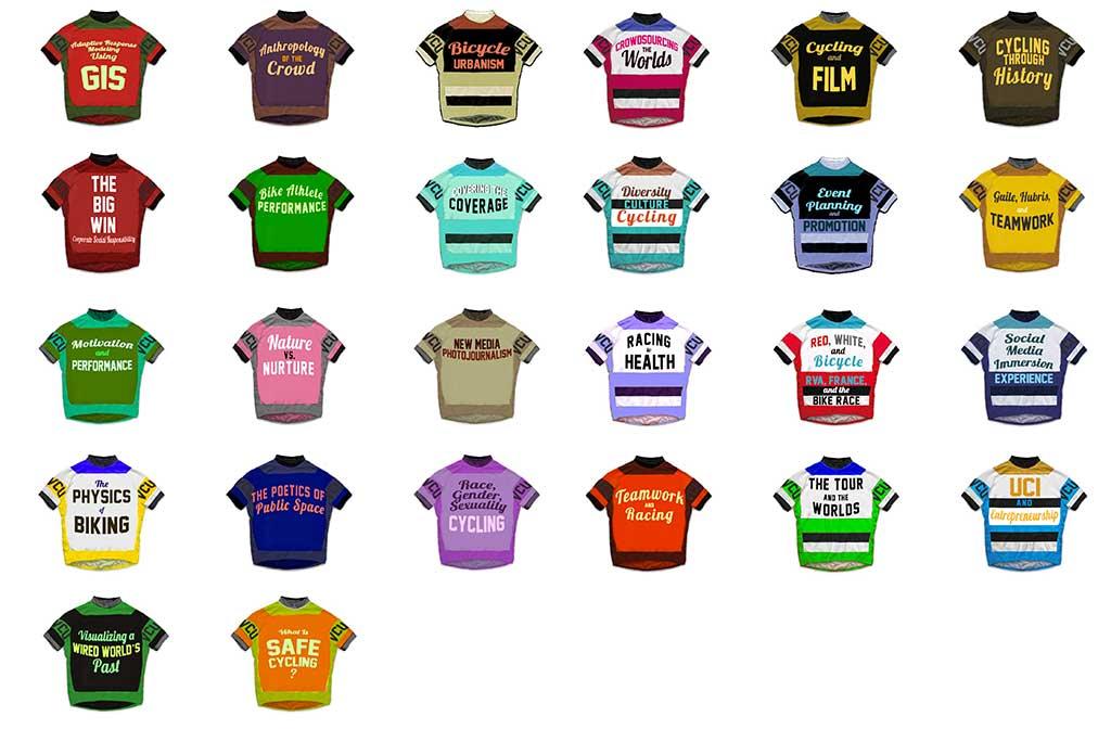 The Great VCU Bike Race Book Courses (UNIV 291)