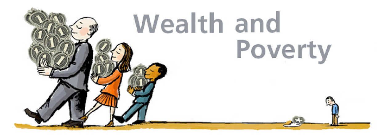 "patterns of wealth and poverty Wealth and income inequality, specifically the perceived widening of the gap between rich and poor, has been in the public discourse for quite some time in ""divergence: wealth and income."
