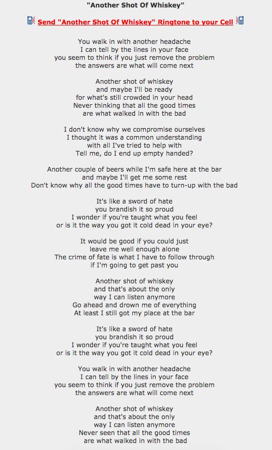 Lyric minor threat in my eyes lyrics : Punk Rock Lyrics Collection for Content Analysis | Univ 112 ...