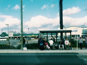 Thanksgiving in Alexandria, VA. Buses are still running and people are still living.