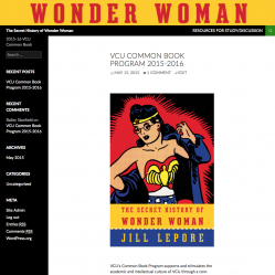 The cover the secret history of wonder woman.