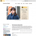 Image of Common Book Main Page for Tell Me How It Ends