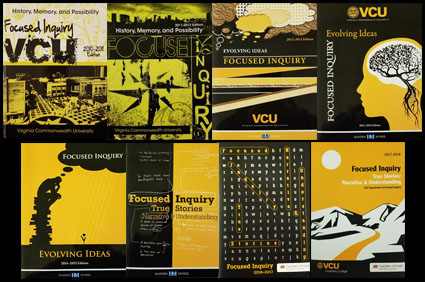 Covers for 8 previous textbooks.