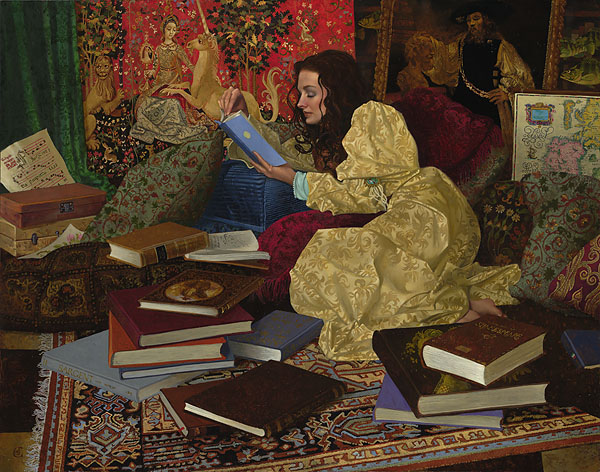 """A Place of Her Own"" by James Christensen"