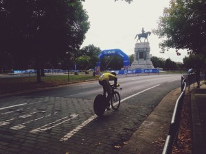 Beautiful race for Thailand cyclist in the Men's Junior Time Trials Tuesday.
