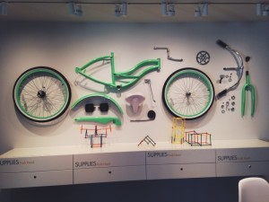 The Art Cycle exhibit at the VMFA welcomes cyclists and fans alike to learn and interact with the mechanics of bicycling.
