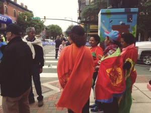 Very strong support from the Eritrean community!