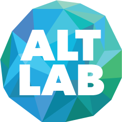 Globe logo of Alt Lab
