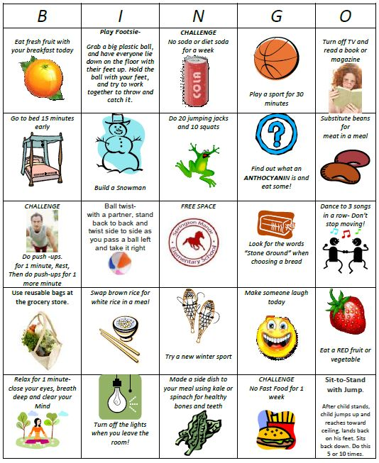 Health And Wellness Activities For Kids