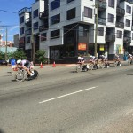 Bike Race view from Shockoe Slip...