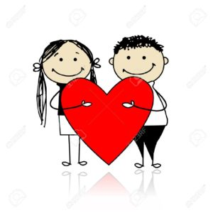 12015172-valentine-day-couple-with-big-red-heart-for-your-design-stock-vector
