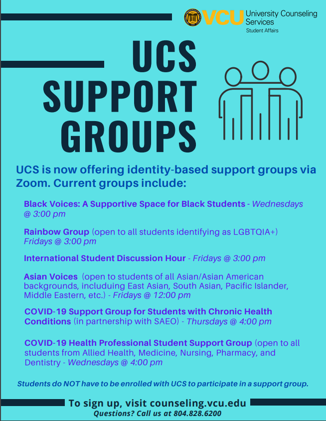 UCS Support Groups