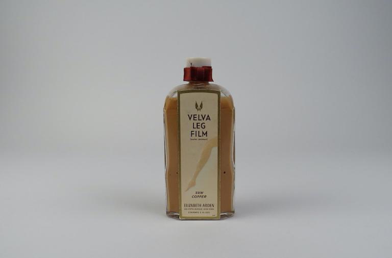 bottle of leg cream