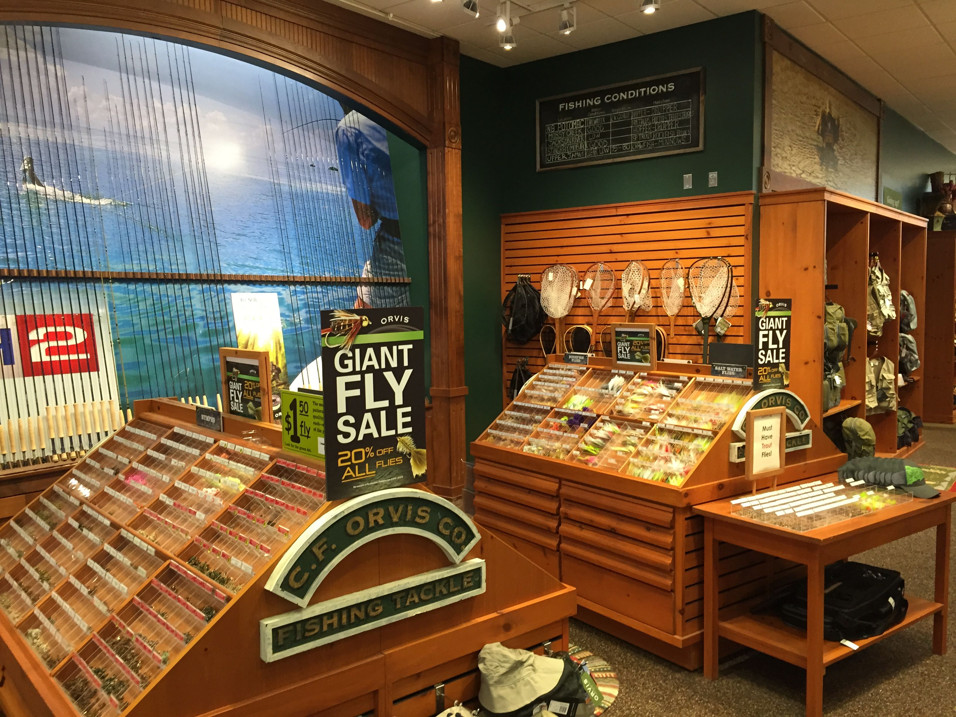 I Thought It Was Very Interesting How Orvis Had Laid Out Their Store. Two  Stories Tall, With A Large Wooden Staircase In The Center, Everything Felt  As ...
