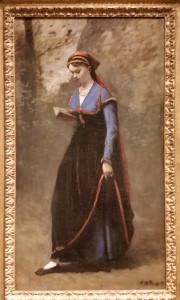The Reader, 1868 Jean-Baptist-Camille Corot Minneapolis Institute of Art