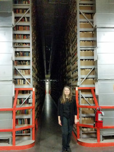 Two stories of books and archival materials