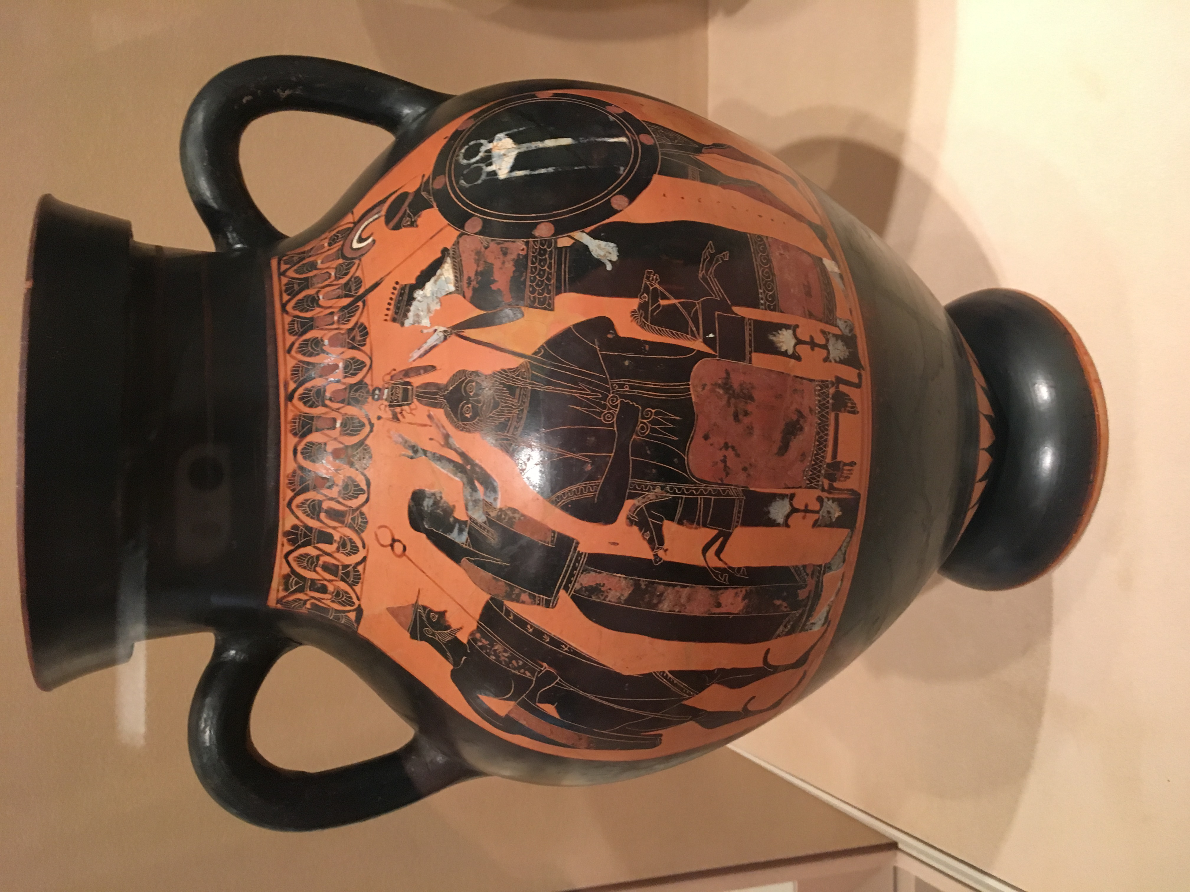 Vase painting and the semiotics of the ancient greeks buterbaugh it was created in 540 bc depicting the story of the goddess athenas birth in greek mythology zeus was foretold that his wife metis who was pregnant with reviewsmspy
