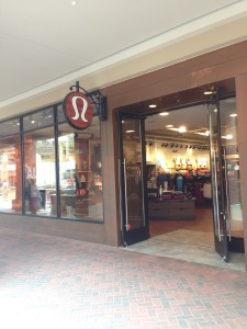 Even the sales associates for Lululemon seem to be perfectly tailored to  fit the brand s image. Four young 42bb69a5c96