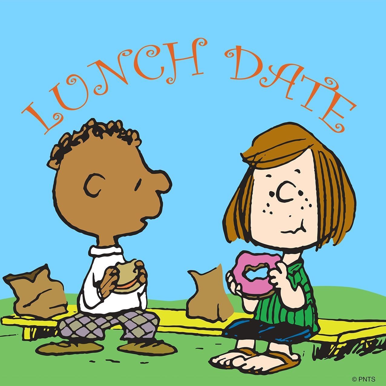 Image result for lunch date cartoon