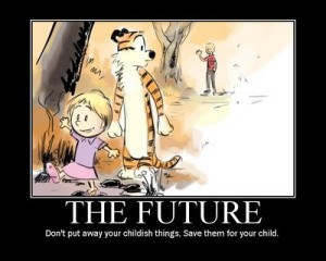 Calvin and Hobbs the Future