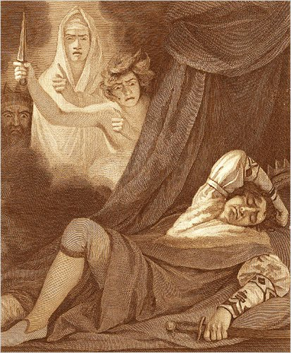 supernatural purposes in macbeth Act 4, scene 1 act 4, scene  using weather imagery, macbeth demands that the witches use all their supernatural powers to answer  king macbeth will live out.