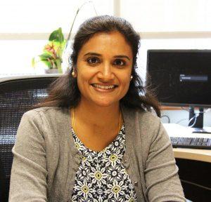 Headshot of Dr. Lathika Mohanraj