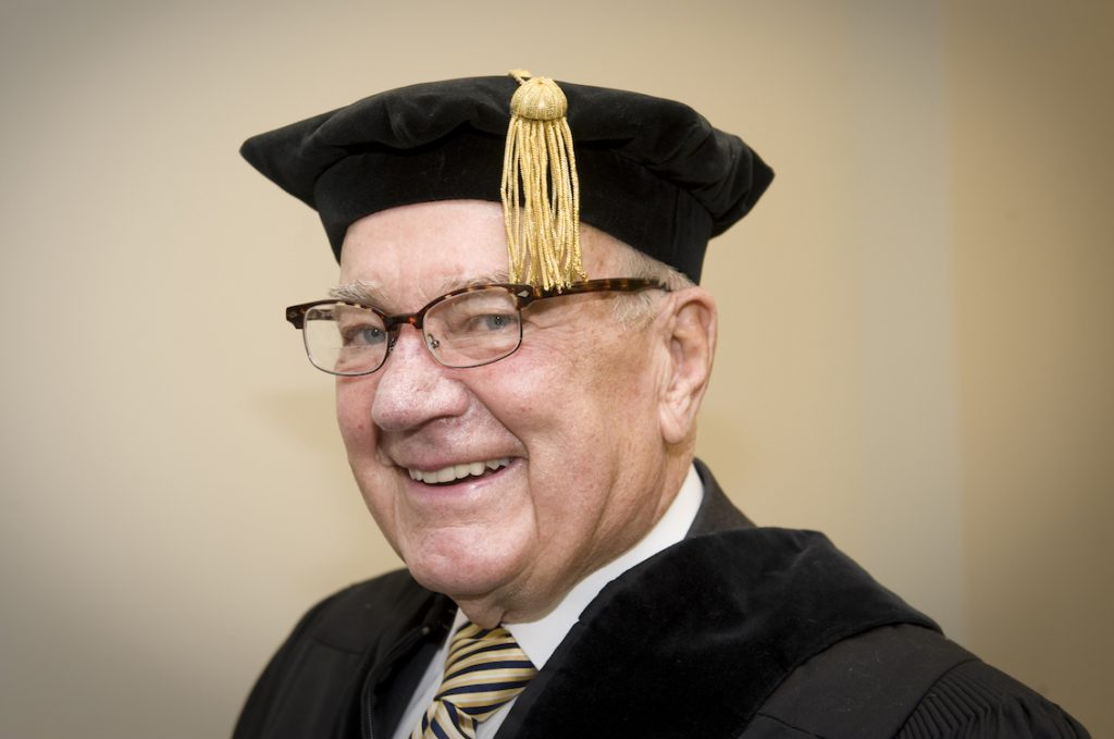 Kenneth Wright receives honorary doctorate