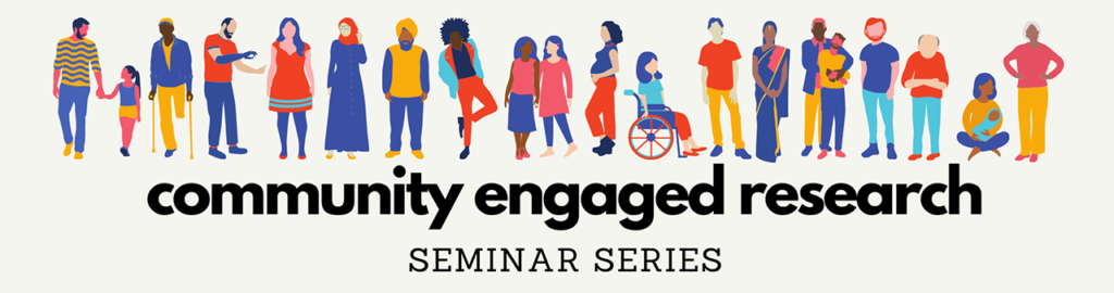 community engaged research seminar series logo