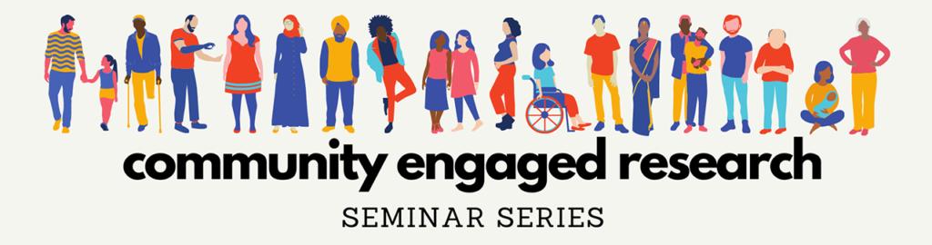 community engaged research seminar series logo