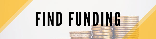header that says find funding