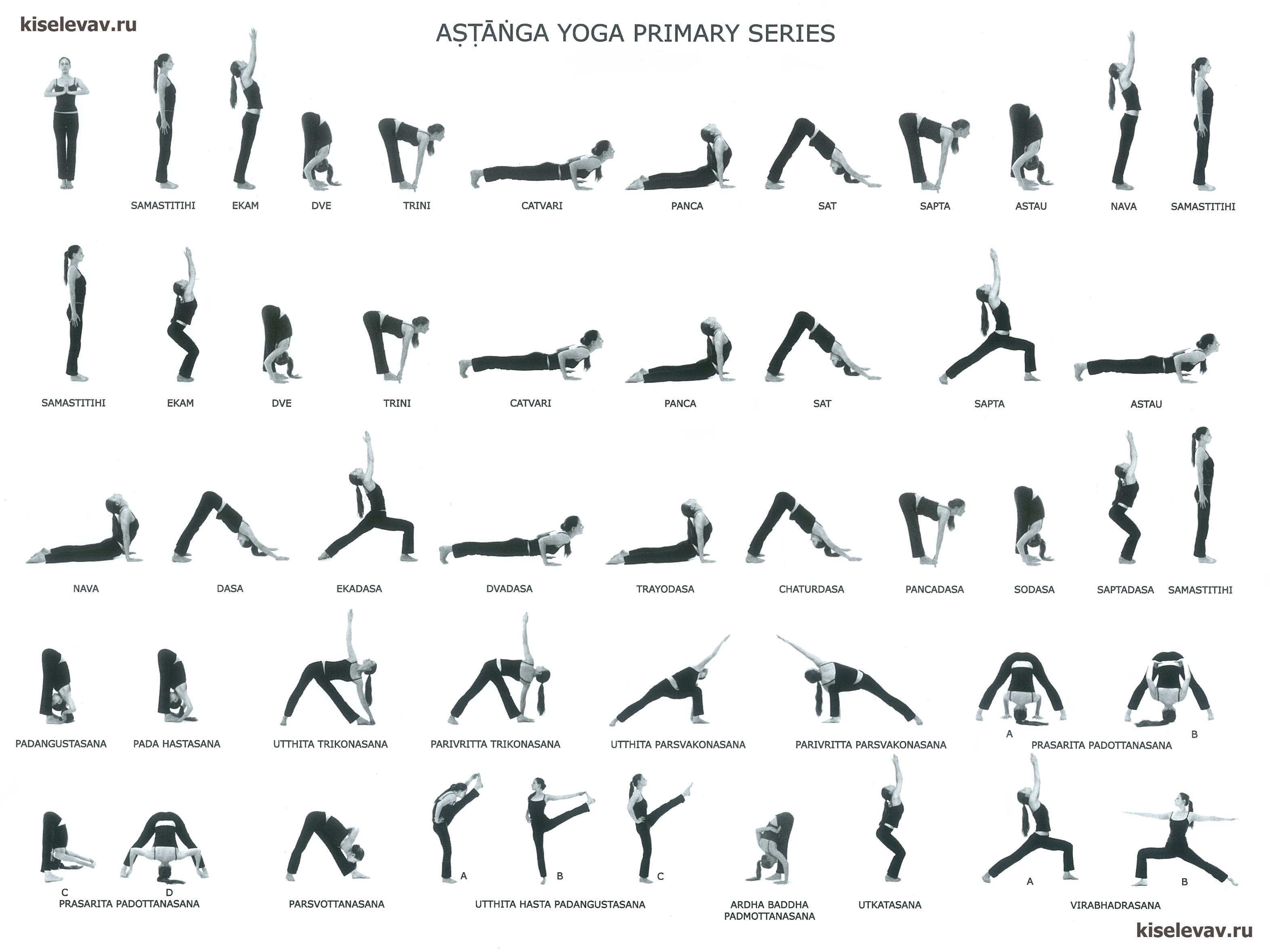Ashtanga-Vinyasa Series Sheets | Daily practice : Yoga ...